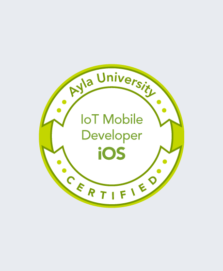 Certified Internet Of Things Mobile Developer