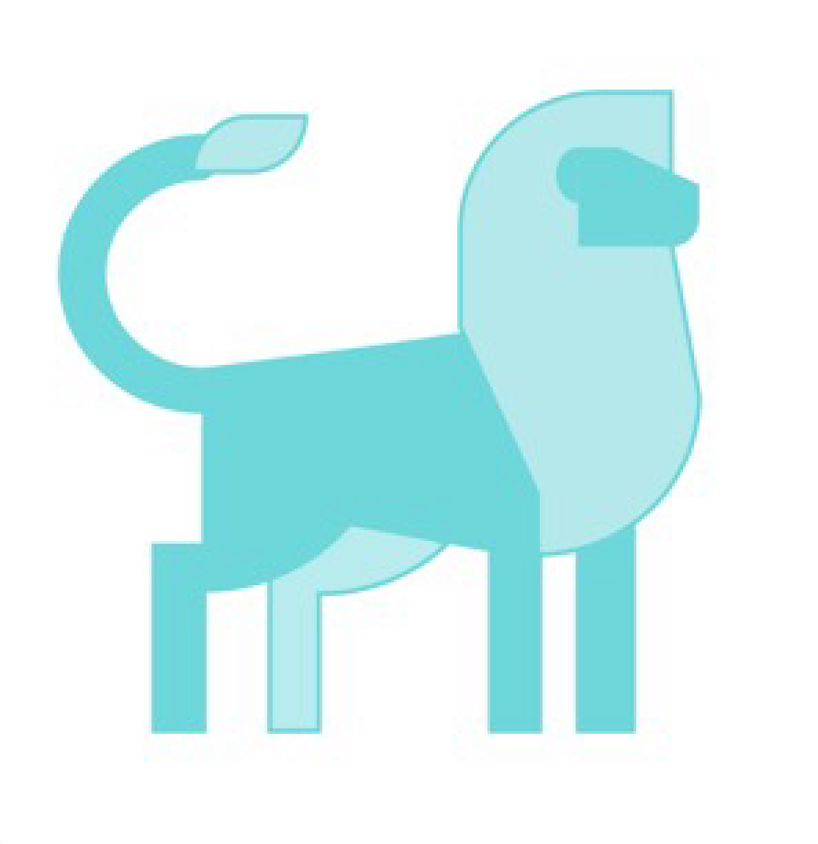 RentLion Logo by Blue Label Labs